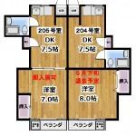 東京セントラル荻窪205号室